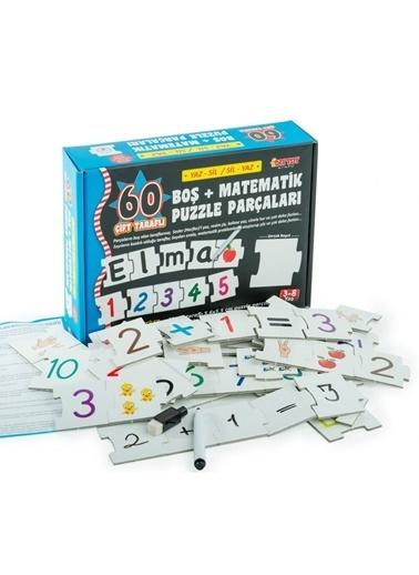 Bunjoy Diy-Toy Yaz-Sil Boş Matematik Puzzle 1383 Renkli